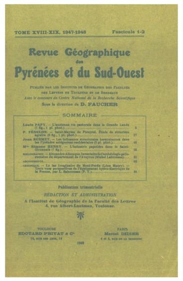 Les influences structurales hercyniennes dans les Pyrénées ariégeoises occidentales