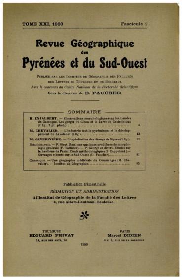 d93e15f18d41fb Observations morphologiques sur les Landes de Gascogne. Les gorges ...
