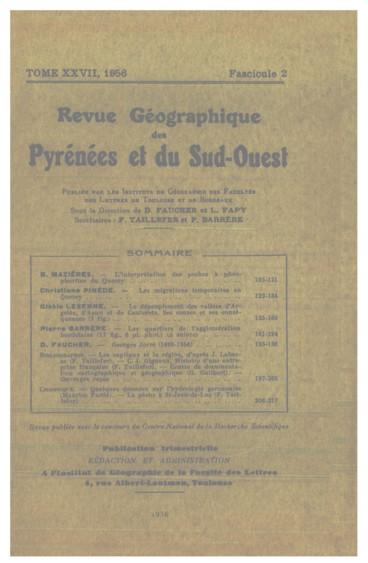 Quelques données sur lhydrologie garonnaise