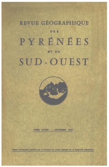 Un bilan économique du Périgord en 1960