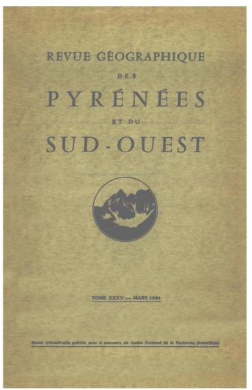 Lhydrologie des Pyrénées occidentales en 1962