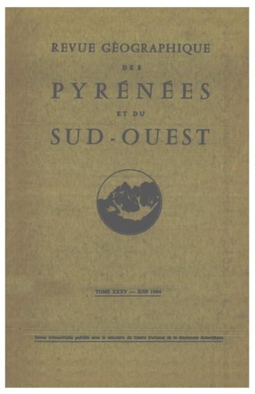 Le Piémont bas-dauphinois : Yves Bravard, Le Bas-Dauphiné. Recherches sur la morphologie dun Piémont alpin