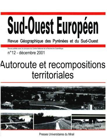 Autoroute A 89 et espaces vécus dans les aires de faible densité de la Double et du Landais Dordogne