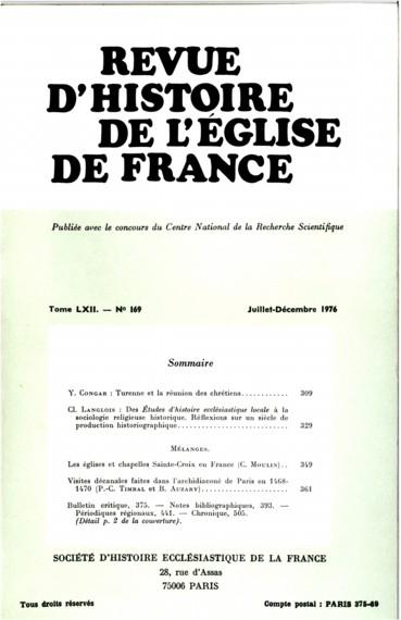 Visites Dcanales Faites Dans Larchidiacon De Paris En 1468 1470