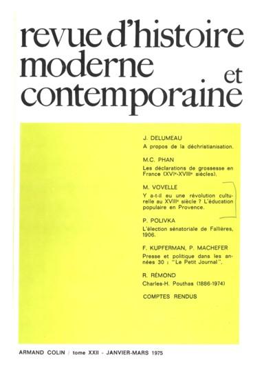 Presse et politique dans les années Trente   le cas du Petit Journal ... bc76185df5df