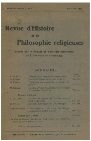 L Atheisme Dogmatique En Sociologie Religieuse Persee