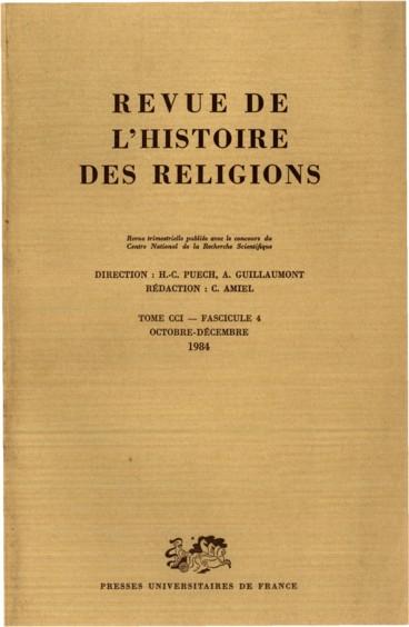 la nostalgie des origines methodologie et histoire des religions