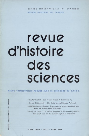 theorie aristotelicienne de la science