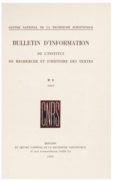Recherches sur quelques manuscrits en ancien français provenant du ... 8498089b6da9