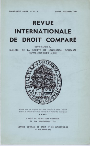Apercu General Sur Le Droit Roumain Du Mariage Et Des Regimes