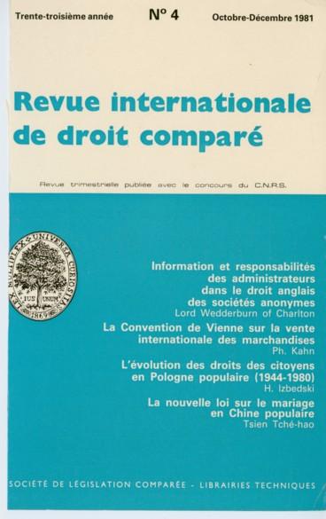 a9e32f66385 La Convention de Vienne du 11 avril 1980 sur les contrats de vente ...