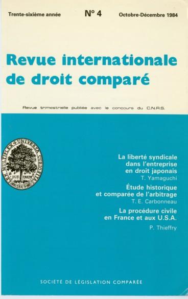 Quelques aspects comparés de la procédure civile en France et aux ... 77235a1c798