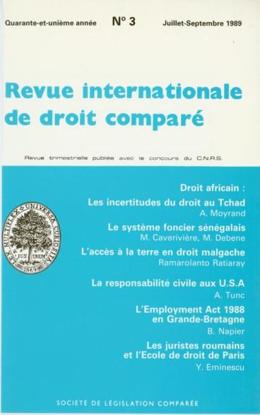 Pour Une Reforme Du Droit De La Circulation Routiere Travaux Du