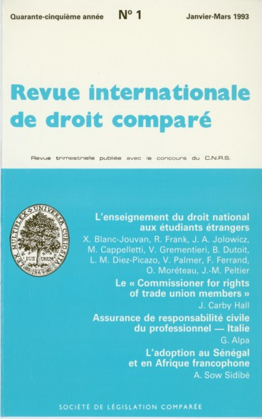 L Assurance De Responsabilite Civile Du Professionnel En Droit