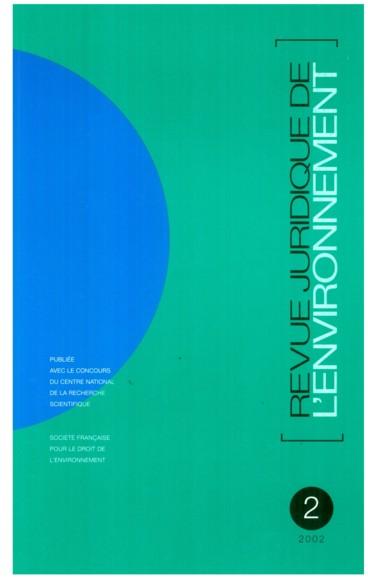 Xavier Braud Protection De L Environnement Guide Juridique A L Usage Des Associations 2002 Persee