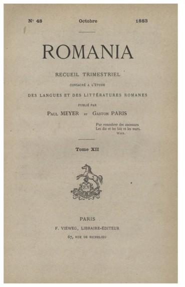 2eae01c5ba3 Études sur les romans de la Table Ronde (suite) - Persée