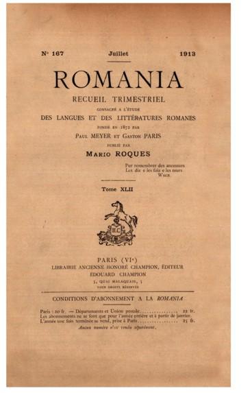 Le Poème De Richeut Et Le Roman De Renard Persée
