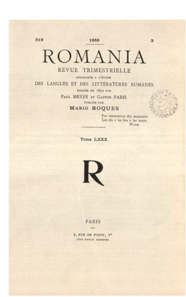 Pour une réédition des Lettres de Guittone - Persée