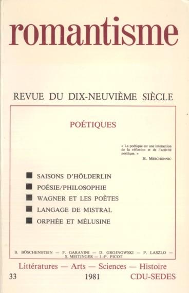 Les Derniers Poèmes De Hölderlin Persée