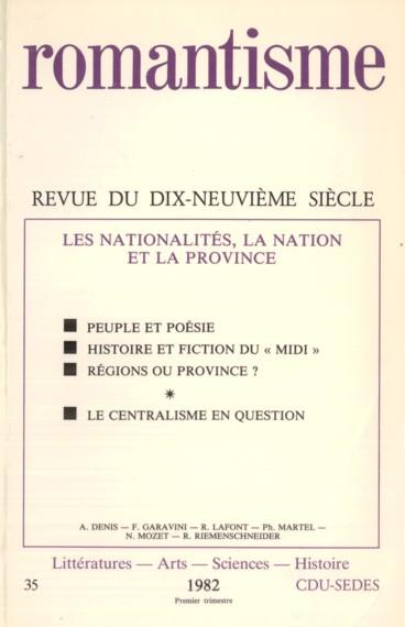 Poésie Populaire Poésie Nationale Deux Intercesseurs