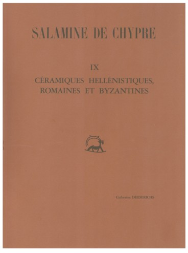 ebf38686d740 Salamine de Chypre. IX. Céramiques hellénistiques, romaines et ...