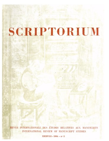 Bruce M  Metzger  Manuscripts of the Greek Bible  An