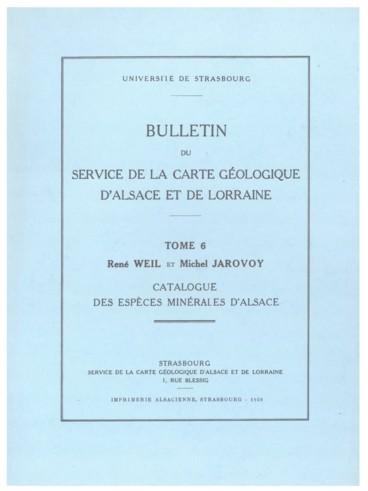 Carte Geologique Lorraine.Bulletin Du Service De La Carte Geologique D Alsace Et De