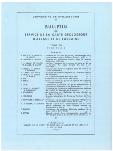 Datation relative de la palynologie