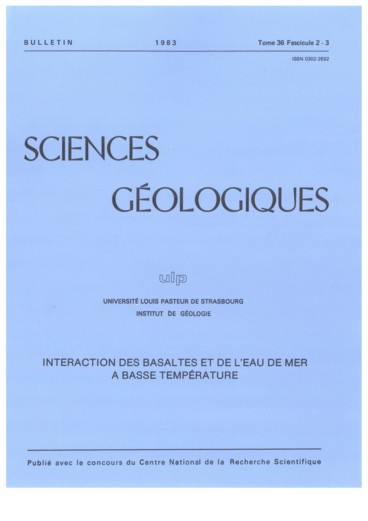 Hydrothermal Alteration Of Submarine Basalts From Zeolitic