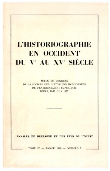 La Vie Du Roi Robert Par Helgaud De Fleury Historiographie