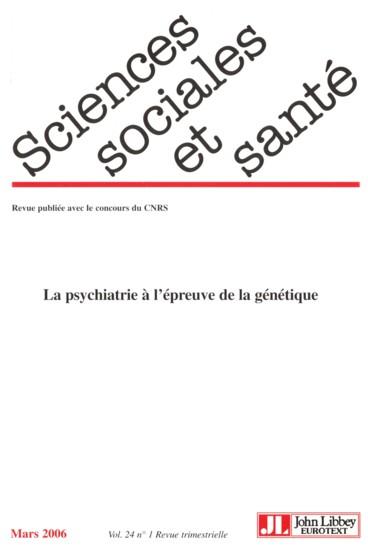 La Psychiatrie A La Recherche D Un Esprit Post Genomique Persee