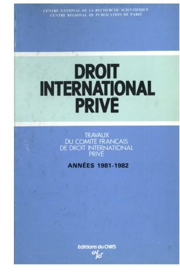 La Recherche De La Solution Equitable En Droit International Prive