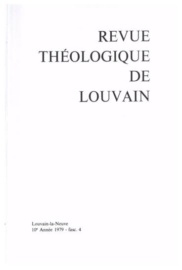 Les Lettres Attribuees A Ignace D Antioche Et L Apparition De L