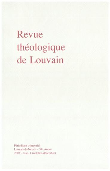 5f1795d8080ddf Index international des dissertations doctorales en théologie et en droit  canonique présentées en 2002