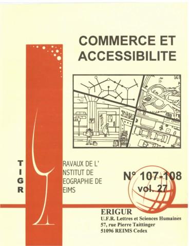 Accessibilité Et Commerce De Proximité En Campagne Haut