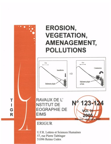 Retour sur deux événements particuliers : les fortes crues du 4 et 5 août 2004 Sur les bassins versants expérimentaux de Draix Préalpes du Sud-France