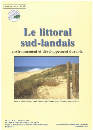 Le littoral sud landais : évolution du trait de côte